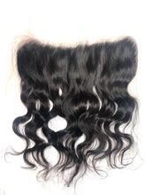 Load image into Gallery viewer, Raw Indian Natural Wavy 13x4 Lace Frontal