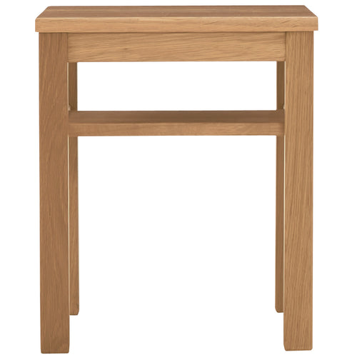 Oak Sidetable Bench / Wooden S
