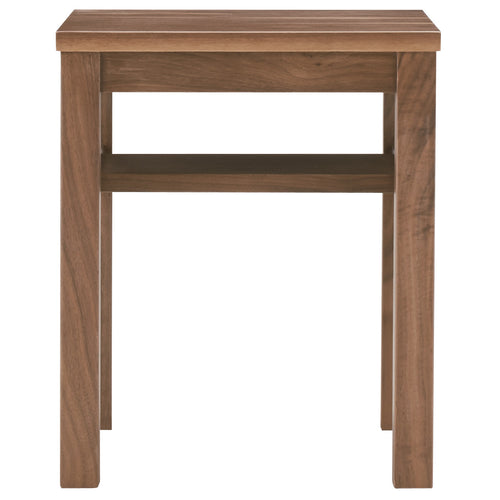 Walnut Sidetable Bench