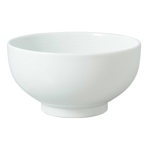 White Porcelain Donburi Bowl / L