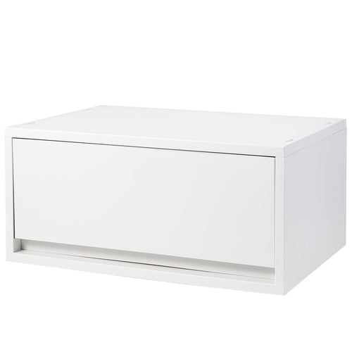 PP Storage Case / Wide / Deep / White Grey