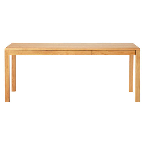 Natural Oak Table (With Drawer)