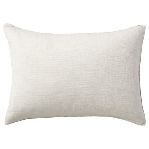 Organic Cotton Triple Gauze Pillow Case Light Grey Melange