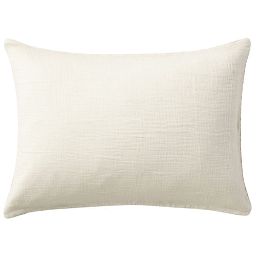 Organic Cotton Triple Gauze Pillow Case Beige Melange