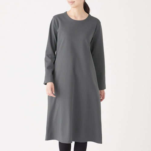 Milano Rib Crew Neck Dress