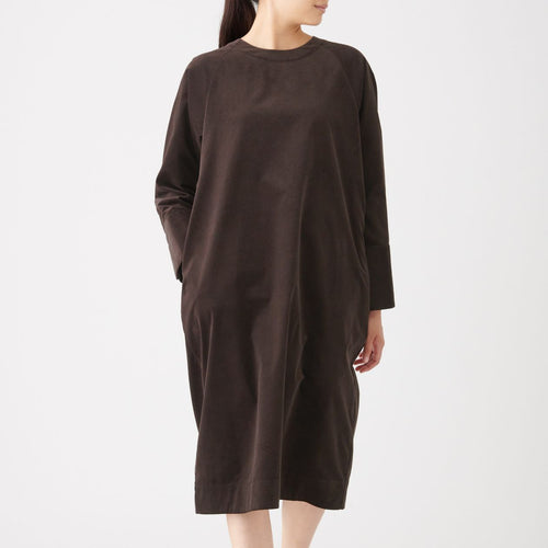 Corduroy Pullover Dress