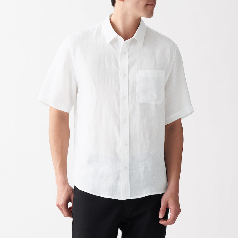 French Linen Washed S/S Shirt