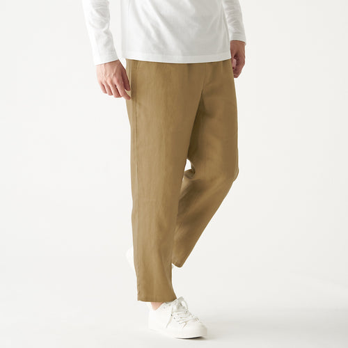 French Linen Wide Trousers