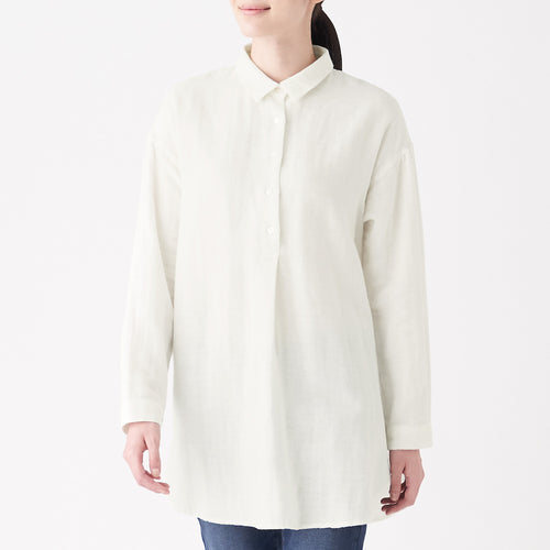 Cotton Hemp Double Gauze Tunic