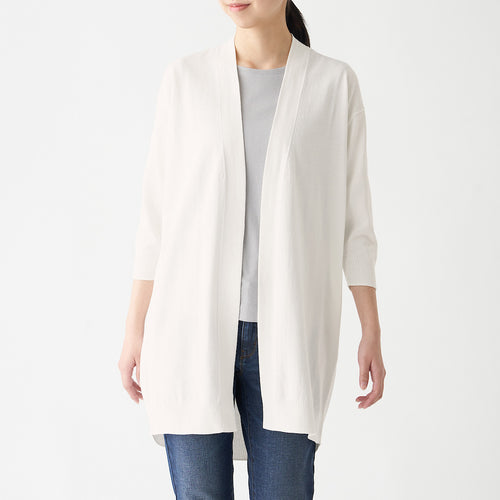 Uv Protection Strong Twisted Long Cardigan