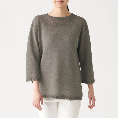 French Linen Middle Gauge Tunic