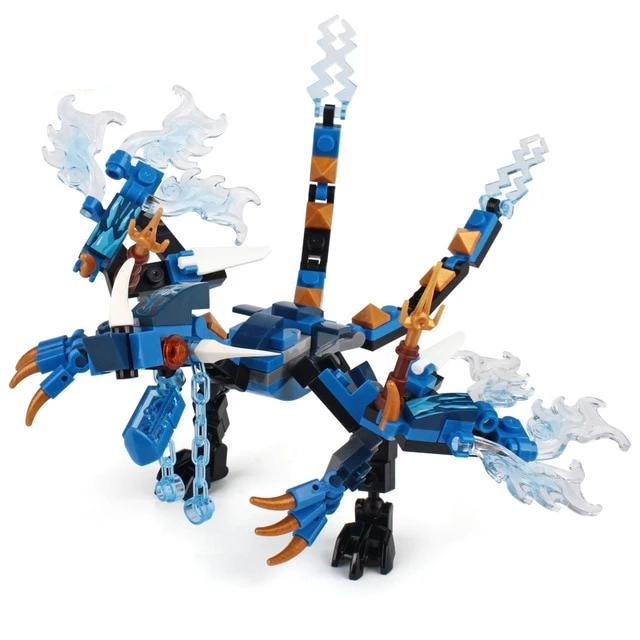 Ninja Dragon Knight Blocks Toys - MeWantZ