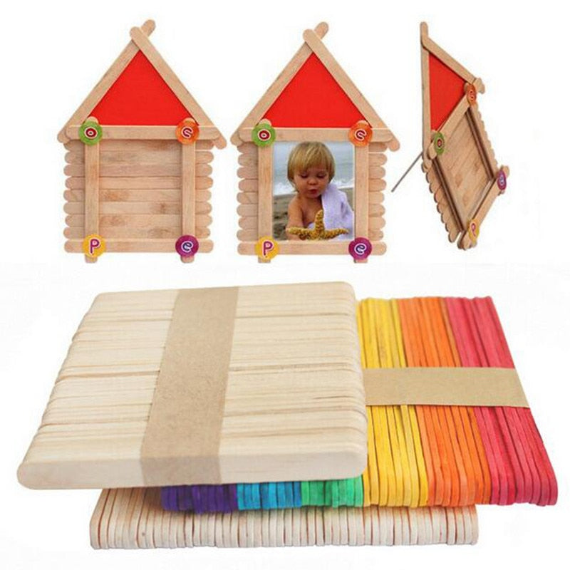 Wooden Popsicle Stick Toy - MeWantZ