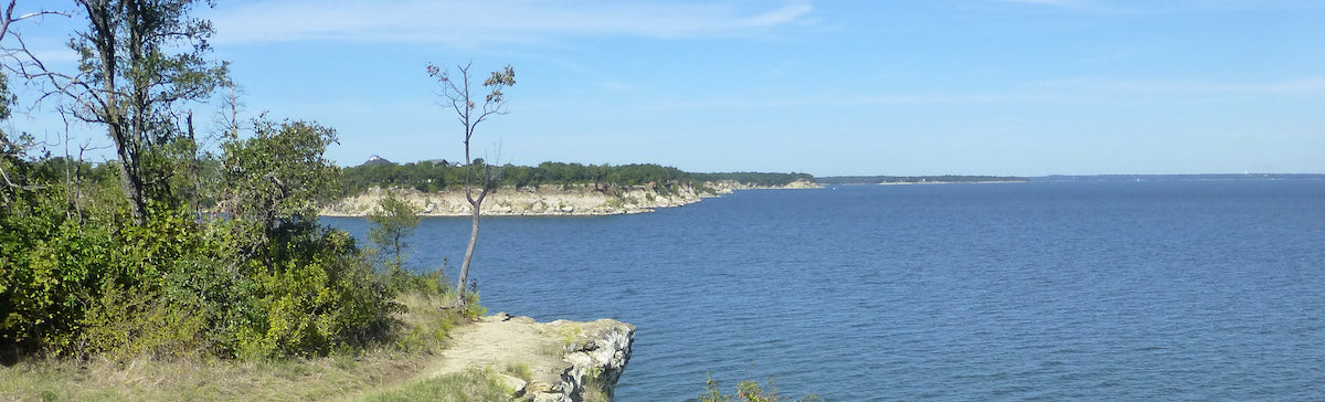 View of Lake Texoma from Eisenhower State Park
