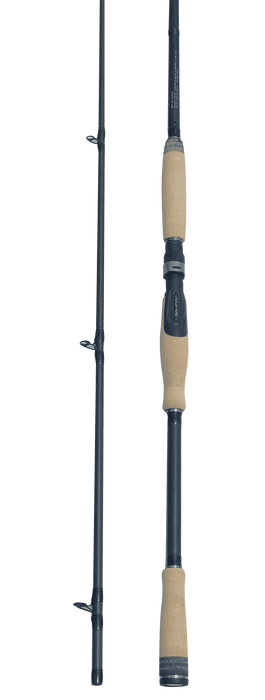 Bonehead Black Spinning Rod
