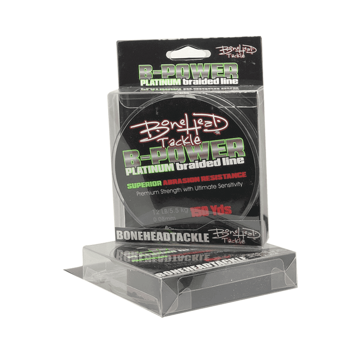 Bonehead B-Power Platinum Braided Line