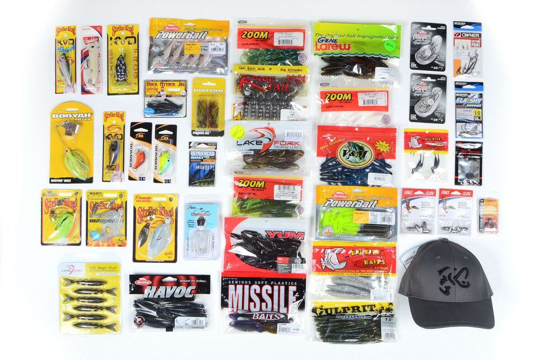 Lake Pro Tackle Complete Bass Fishing Kit