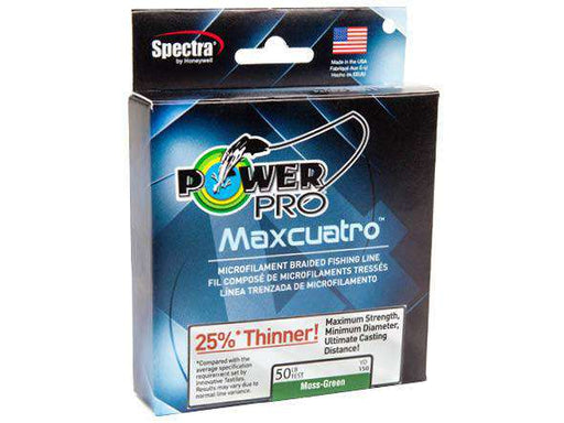 PowerPro Maxcuatro Microfilament Braided Line Box