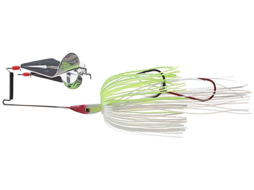 Strike King Double Take Buzzbait Chartreuse White