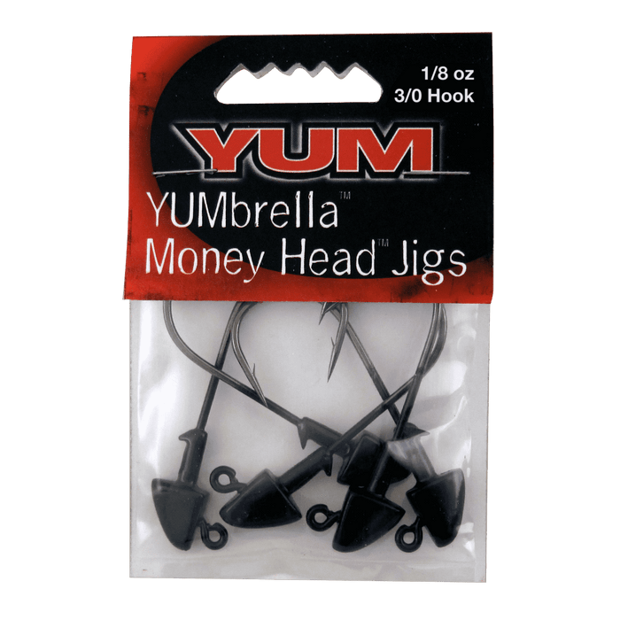 Yum YUMbrella Money Head Jig Heads Package