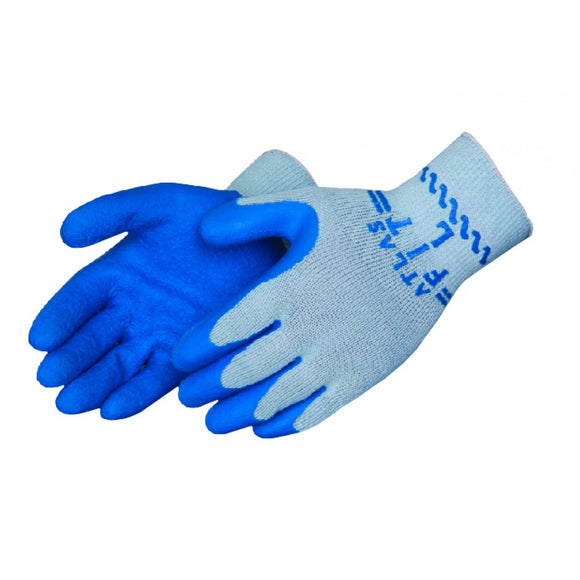 Coated String Knit Gloves