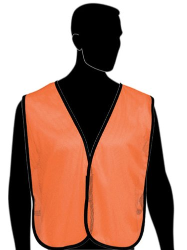 Plain Vest - Fluorescent Orange - Non Rated (Product # N16000F)