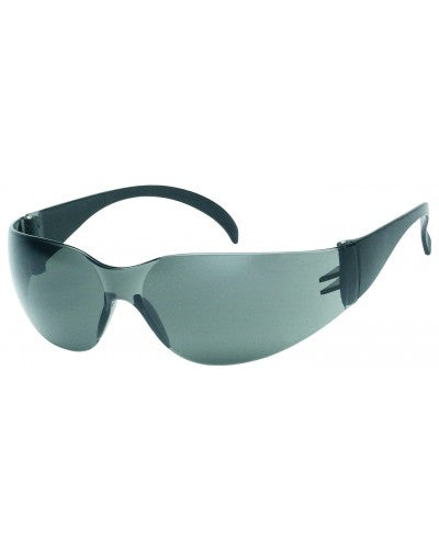 INOX® F-I™ - Gray Lens With Black Frame - Anti Fog / Anti Scratch Lens Coating (Product # 1715QG/AF)
