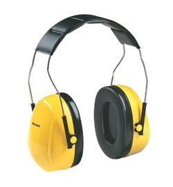 3M™ Optime™ 98 Yellow And Black Over-The-Head Earmuffs (Product # 3MRH9A)