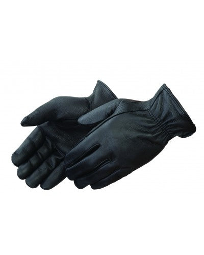 Black Deerskin Leather Driver Glove (Product #6918BK)