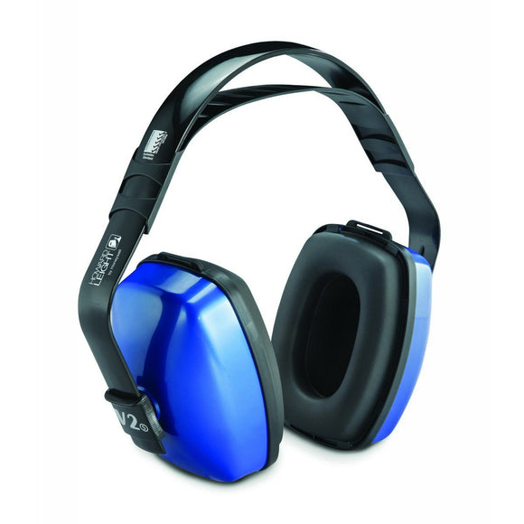Viking™ V2 Dark Blue Multi-Position Earmuffs (Product # HON1010926)