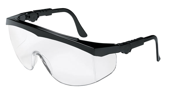 Tomahawk Series (TK110),  Frame Black, Clear Lens (Product # TK110)