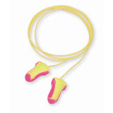 Laser-Lite® T-Shape Polyurethane Foam Disposable Corded Earplugs NRR: 32dB (Product # LL-30)
