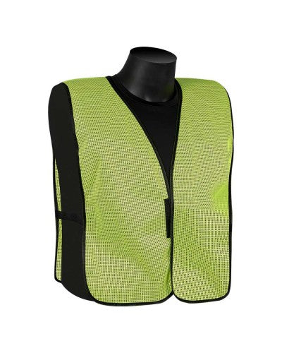 Plain Vest - Fluorescent Lime Green - Non Rated (Product # N16000G)