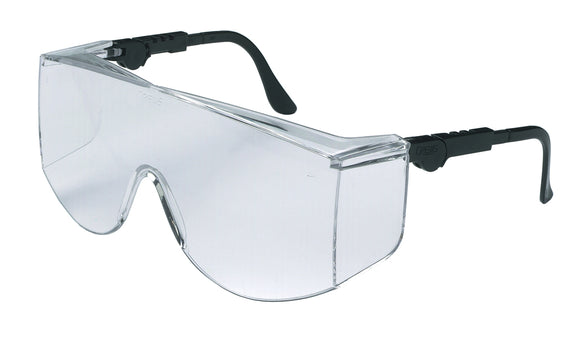 Tacoma XL Series (TC1 XL) - Over the Glass - Lens, Clear Adjustable Temples (Product # TC110XL)