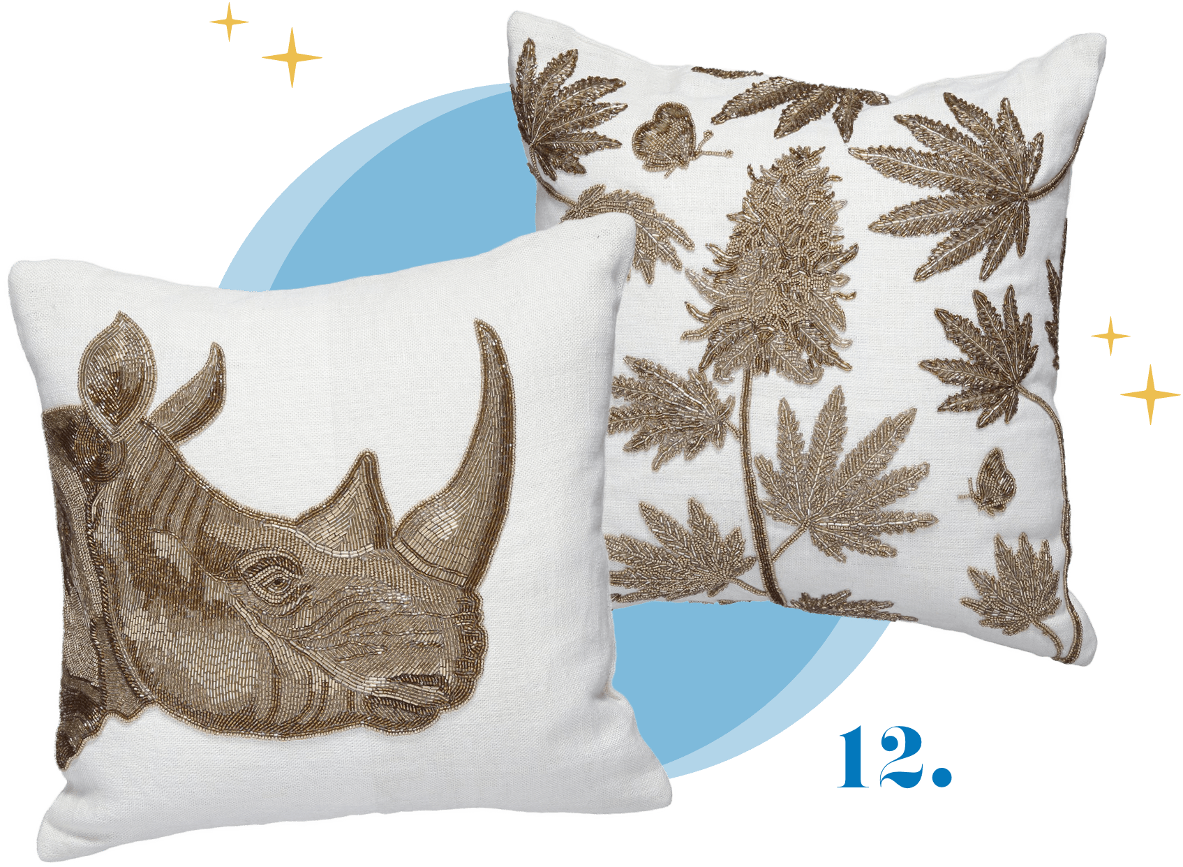 Jonathan Adler Botanist Pillows