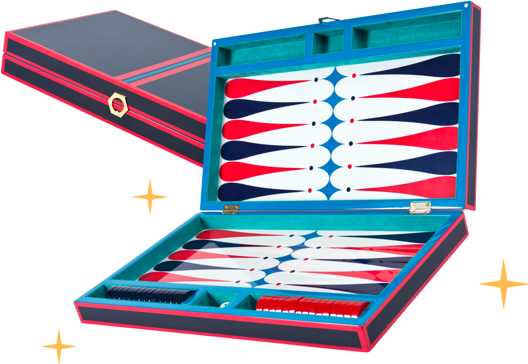 Jonathan Adler Lacquer Backgammon Set