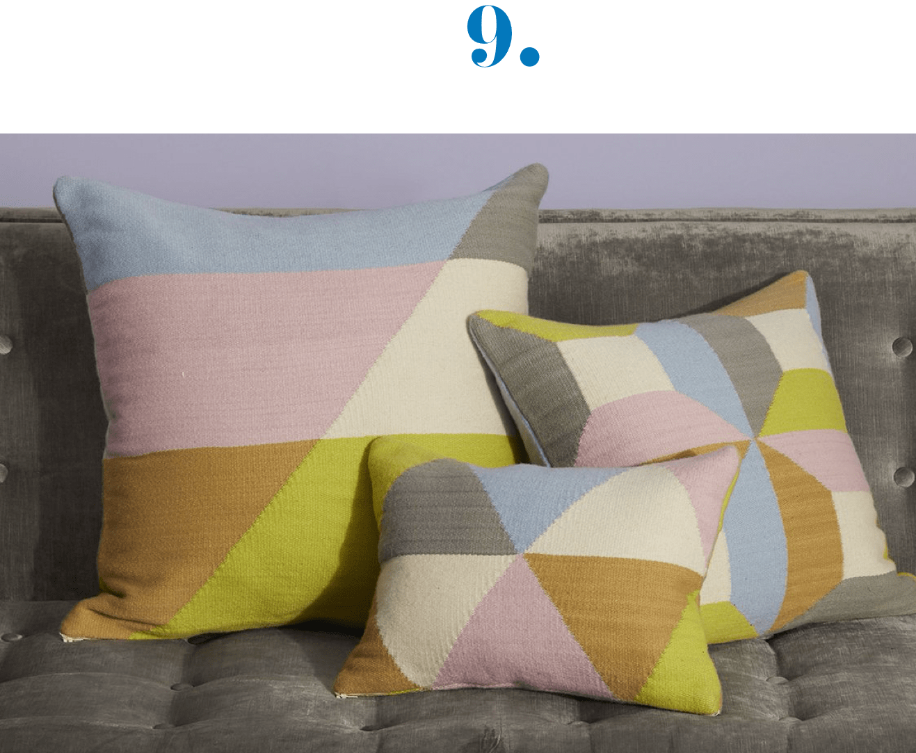 Jonathan Adler Harlequin Pillows