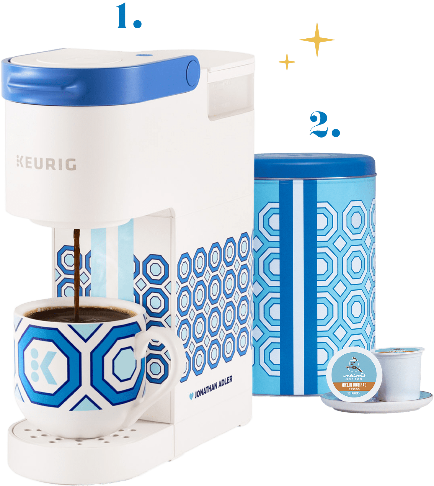 Jonathan Adler ♥︎ Keurig K-Mini® Brewer and Canister