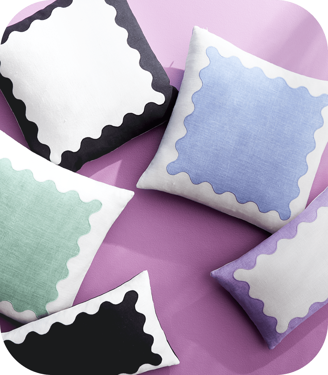 Ripple Pillow Collection