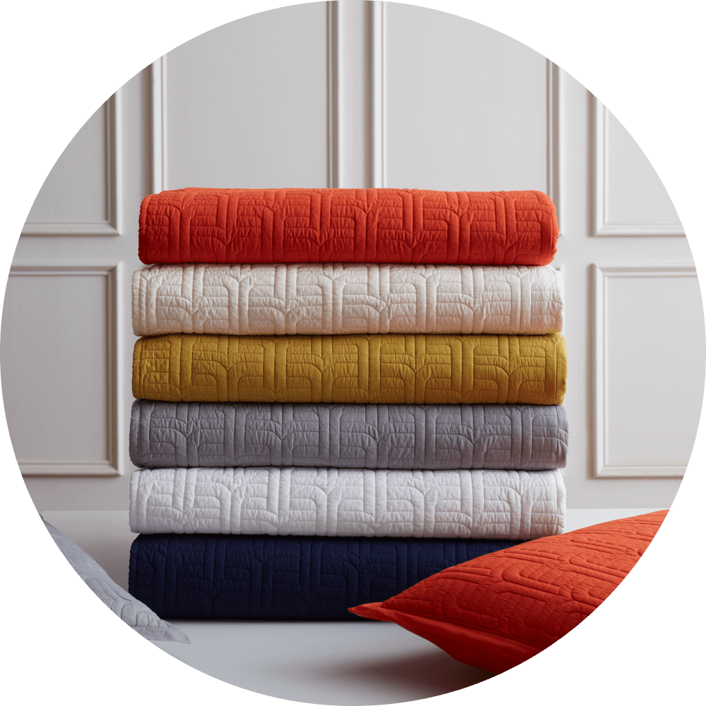 The Everywhere Cotton Quilt Collection by Jonathan Adler