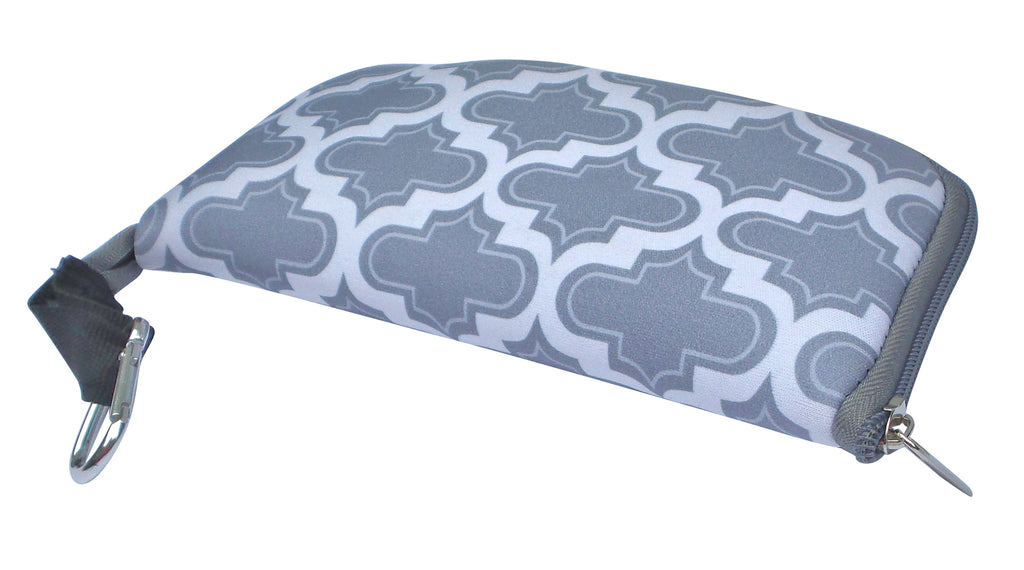 buti mouse pouch & pad | moroccan tile grey