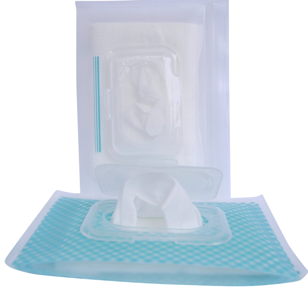 bitty buti-pod flip (2-pack, bitty size, gingham & clear)
