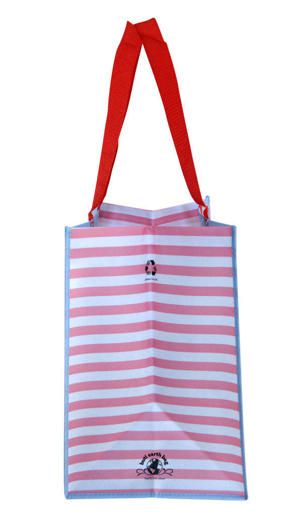 Buti Earth Shopping Bags | Coral Flamingos