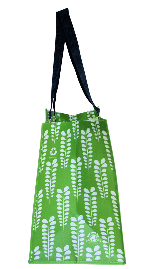 Buti Earth Shopping Bags | Green Leaves
