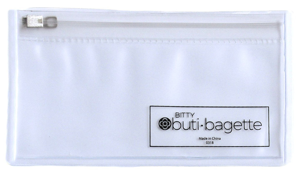bitty bagette zip | Clear