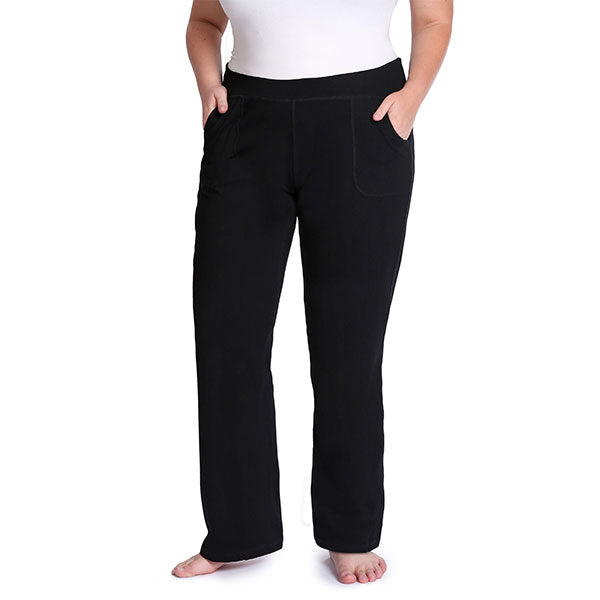 Bossy Pants - Yoga Pants with Pockets! Generously Sized for Plus Sizes