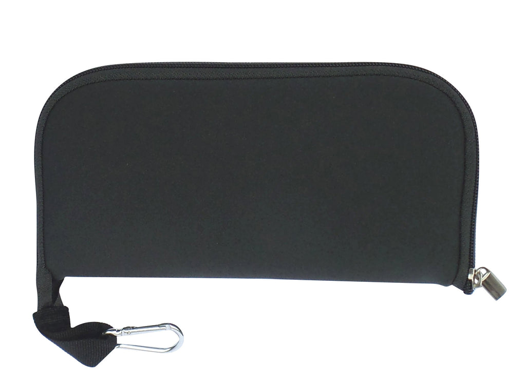 buti mouse pouch & pad | solid charcoal grey