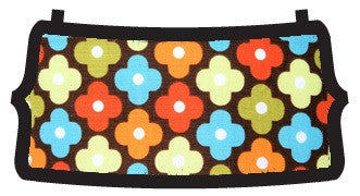 Vinca brown multi color flat belle bottom