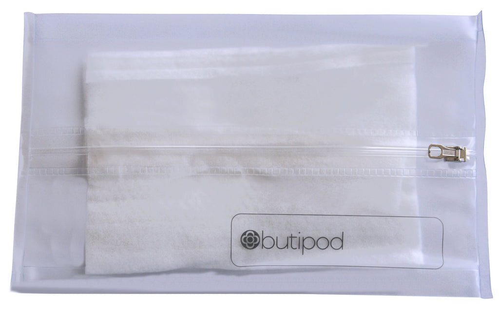 buti-pod zip v5.0 | clear | 2-pack