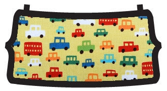 Cars Lime Multi Flat Beau Bottom